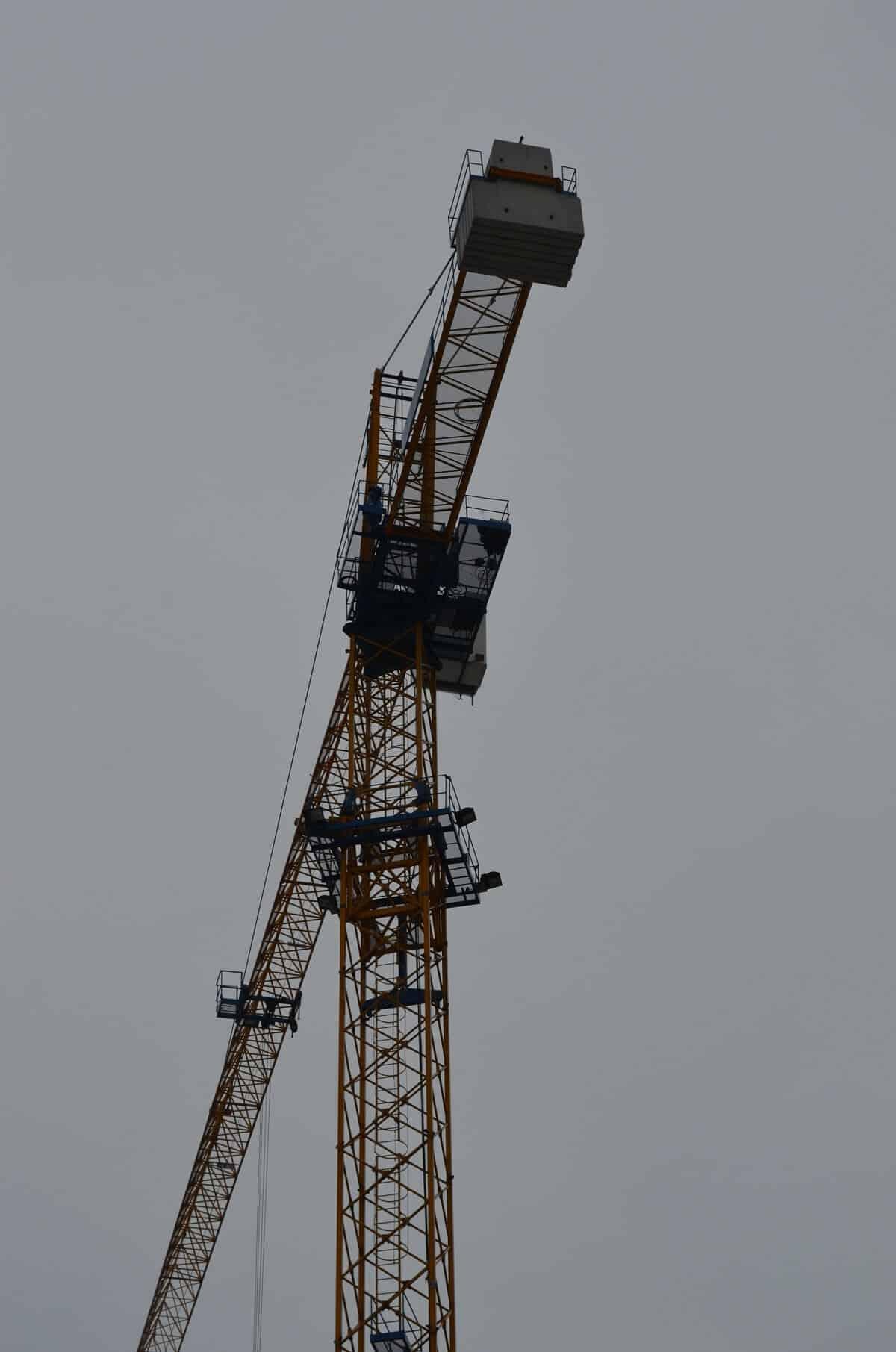 б/у башенный кран Peiner