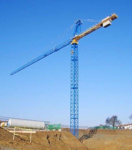 б/у башенный кран Raimondi 14 тонн