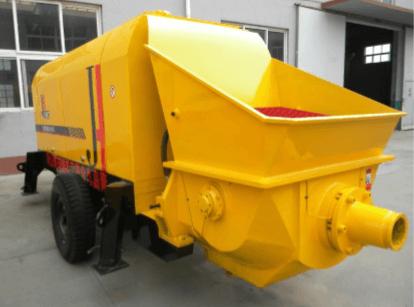Электрический бетононасос HBT50S-12-55