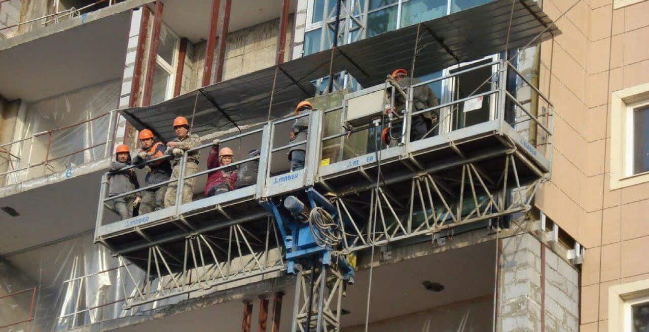 строительный подъёмник б/у