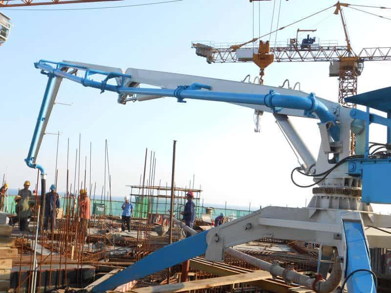 Мобильная бетонораздаточная гидравлическая стрела HGY 18