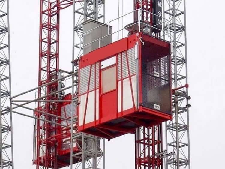 строительный высокоскоростной подъёмник