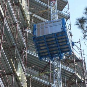 Мачтовый грузопассажирский строительный подъемник MABER, Италия model: MBC 1000/150