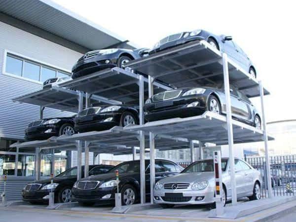 автономная автоматическая парковка