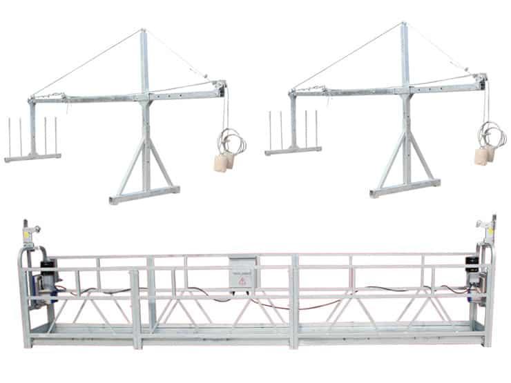 Очередной контейнер строительных горячеоцинкованных люлек ZLP630 уже на складе ВИРАМАКС!