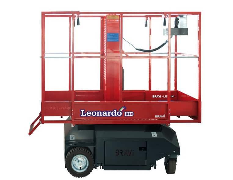 Самоходный вертикальный подъемник BRAVI Leonardo HD