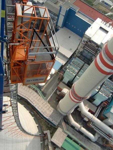 Монтаж промышленных подъемников в Казахстане